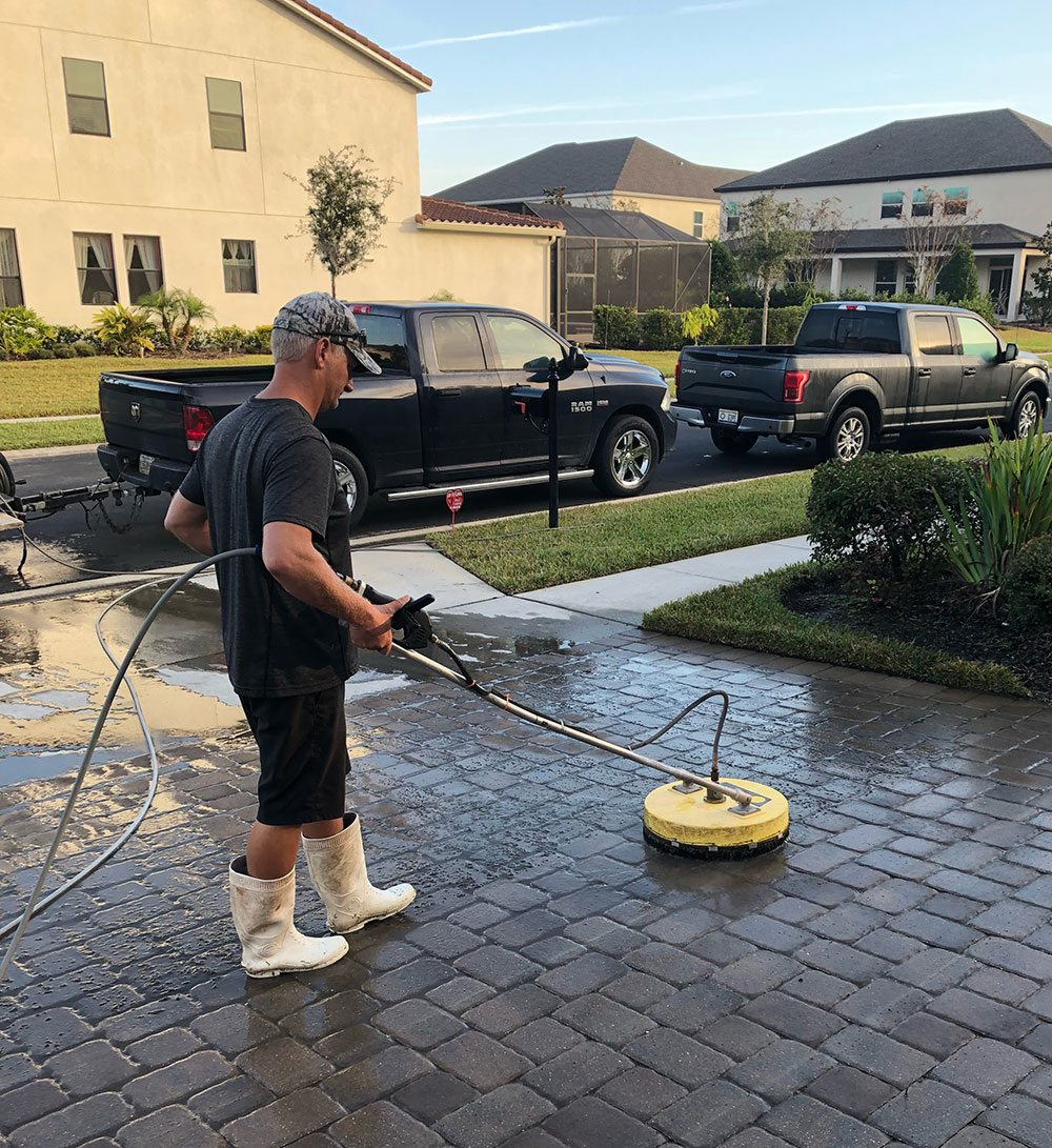 high temp water pressure washing
